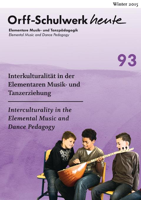 Interkulturalität in der Elementaren Musik- und Tanzpädagogik